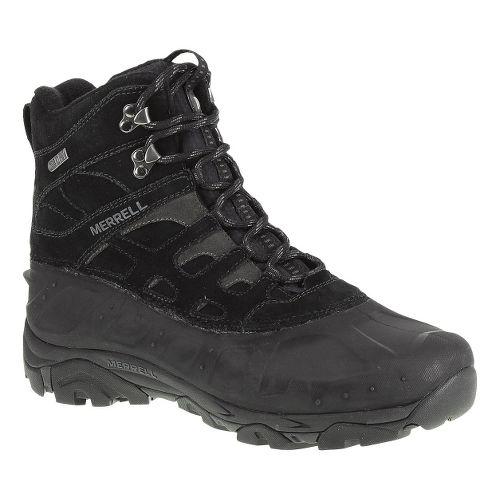 Mens Merrell Moab Polar Waterproof Hiking Shoe - Black 8.5