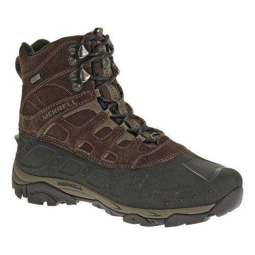 Mens Merrell Moab Polar Waterproof Hiking Shoe - Espresso 10