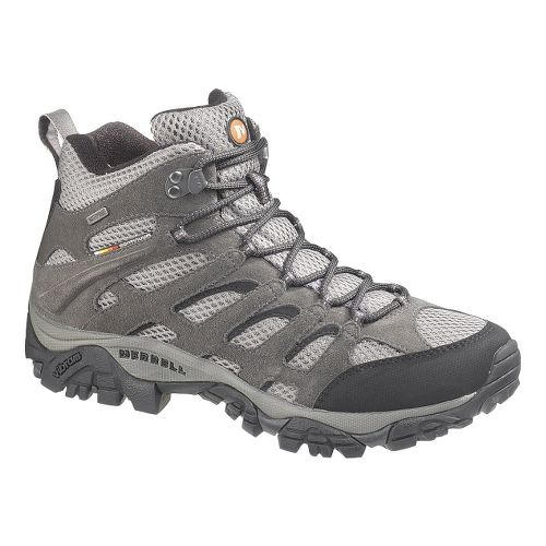 Mens Merrell Moab Mid Waterproof Hiking Shoe - Beluga 12