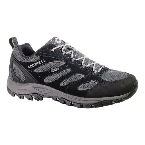 Mens Merrell Tucson Waterproof Hiking Shoe - Black 11.5