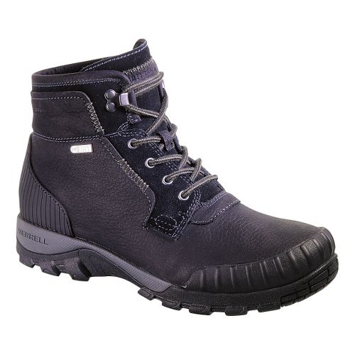 Mens Merrell Himavat Chukka Waterproof Hiking Shoe - Black 8