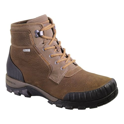 Mens Merrell Himavat Chukka Waterproof Hiking Shoe - Canteen 10