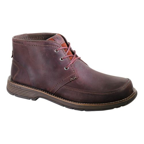 Mens Merrell Realm Chukka Casual Shoe - Cinnamon 11.5