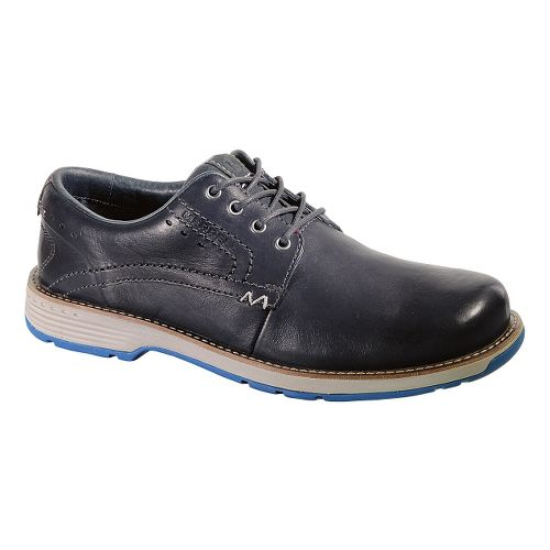 Mens Merrell Realm Lace Casual Shoe - Navy 7.5