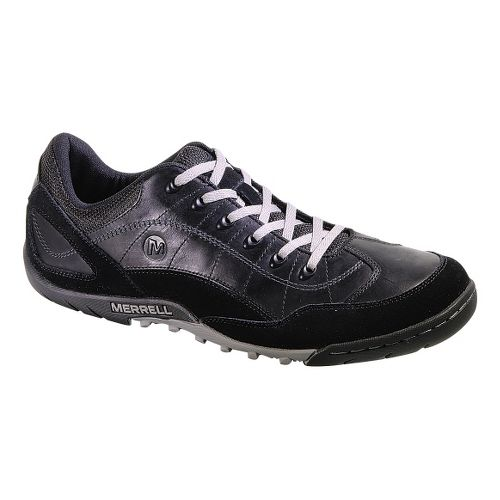 Mens Merrell Sector Pike Casual Shoe - Black 10
