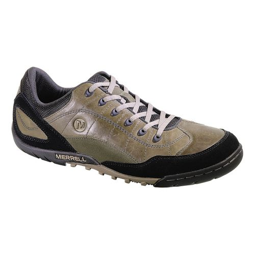 Mens Merrell Sector Pike Casual Shoe - Dark Olive 7
