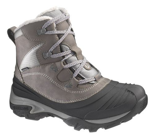 Womens Merrell Snowbound Mid Waterproof Hiking Shoe - Charcoal 10.5