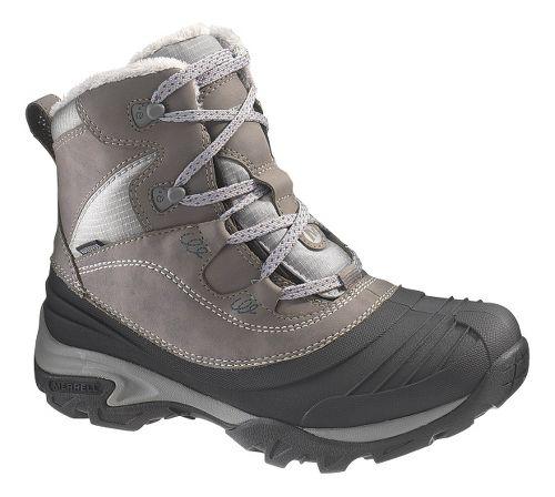 Womens Merrell Snowbound Mid Waterproof Hiking Shoe - Charcoal 9