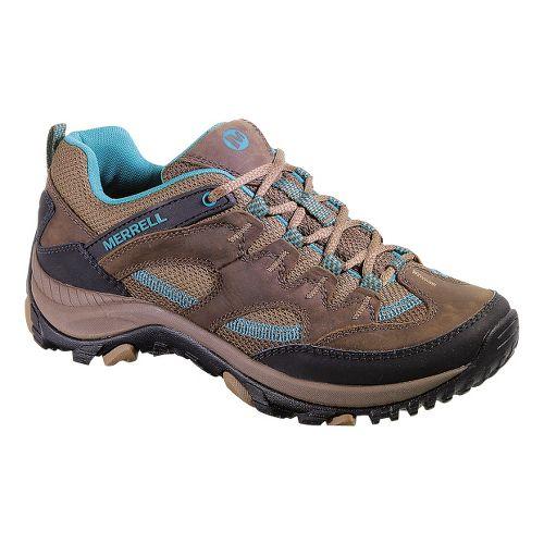 Womens Merrell Salida Hiking Shoe - Dark Earth 10.5