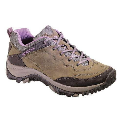 Womens Merrell Salida Trekker Hiking Shoe - Brindle 5