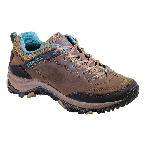 Womens Merrell Salida Trekker Hiking Shoe - Dark Earth 8.5