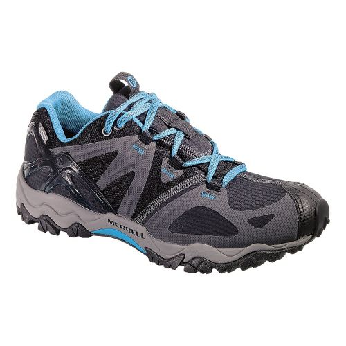 Womens Merrell Grasshopper Sport Waterproof Hiking Shoe - Black 6.5