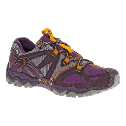 Womens Merrell Grasshopper Sport Waterproof Hiking Shoe - Plum Purple 7