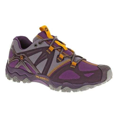 Womens Merrell Grasshopper Sport Hiking Shoe - Plum Purple 6.5