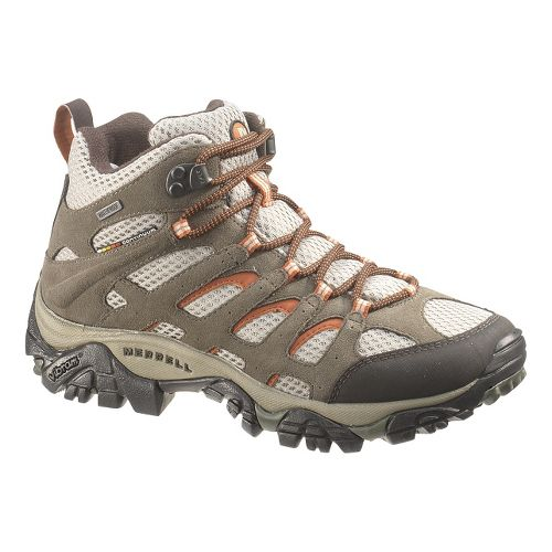 Womens Merrell Moab Mid Waterproof Hiking Shoe - Bungee Cord 7.5