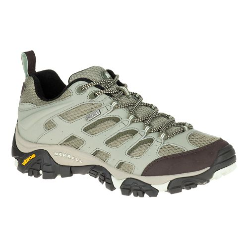 Womens Merrell Moab Waterproof Hiking Shoe - Granite 6