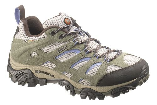 Womens Merrell Moab Waterproof Hiking Shoe - Dusty Olive 5.5