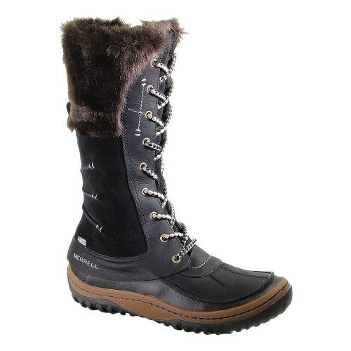 Womens Merrell Decora Prelude Waterproof Casual Shoe - Black 10
