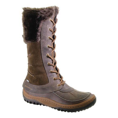 Womens Merrell Decora Prelude Waterproof Casual Shoe - Mocha 10.5