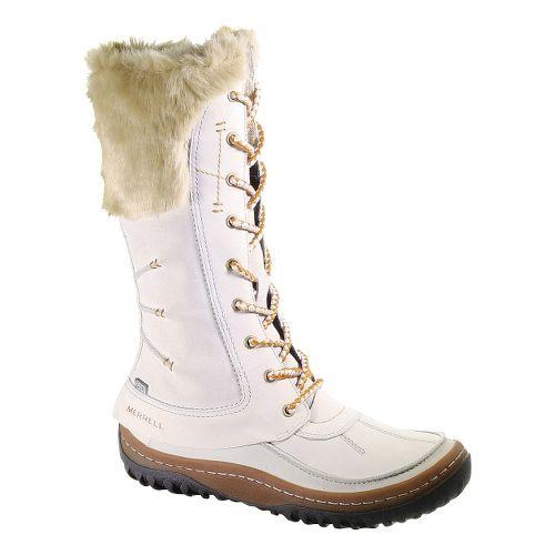 Womens Merrell Decora Prelude Waterproof Casual Shoe - Silver Lining 7