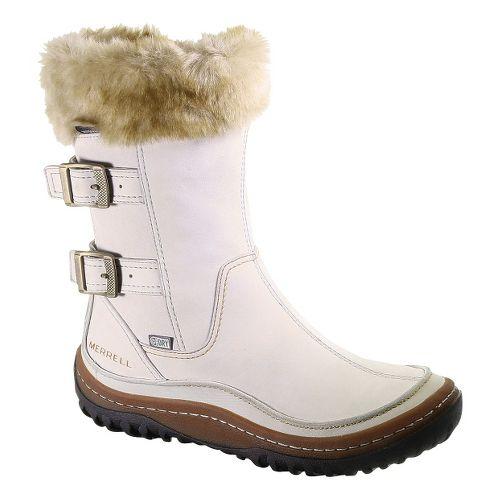Womens Merrell Decora Chant Waterproof Casual Shoe - Silver Lining 7