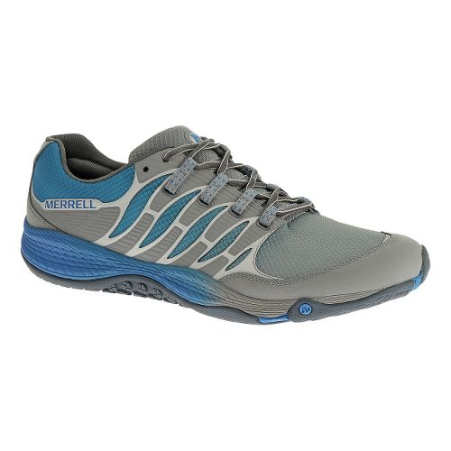 Mens Merrell Allout Fuse Trail Running Shoe - Wild Dove/Blue 8