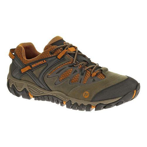 Mens Merrell Allout Blaze Hiking Shoe - Boulder/Tanga 12.5