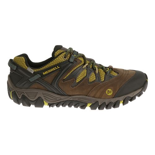 Mens Merrell Allout Blaze Waterproof Hiking Shoe - Clay 9