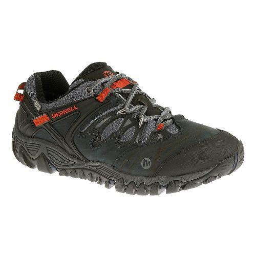 Mens Merrell Allout Blaze Waterproof Hiking Shoe - Blue Wing 10
