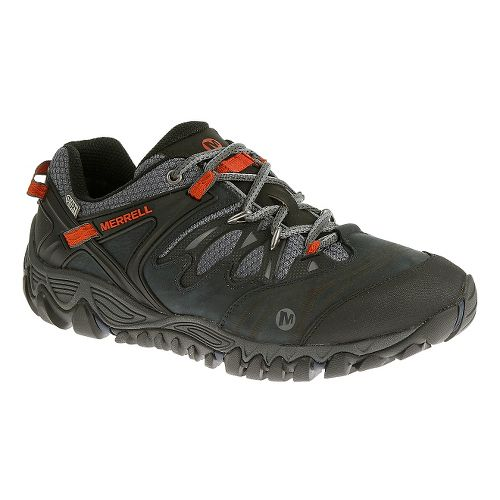 Mens Merrell Allout Blaze Waterproof Hiking Shoe - Blue Wing 14
