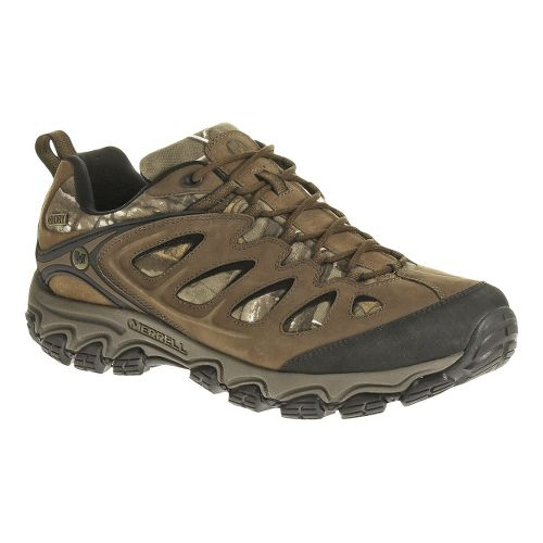 Mens Merrell Pulsate Camo Waterproof Hiking Shoe - Camo 9.5
