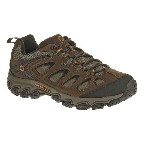 Mens Merrell Pulsate Hiking Shoe - Black/Bracken 8