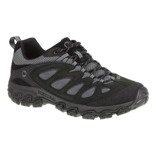 Mens Merrell Pulsate Hiking Shoe - Black/Castlerock 8.5