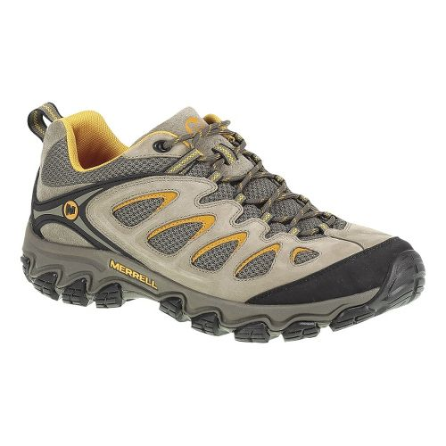 Mens Merrell Pulsate Ventilator Hiking Shoe - Brindle/Boulder 10.5