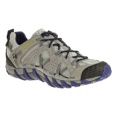 Mens Merrell Waterpro Maipo Trail Running Shoe - Drizzle 10