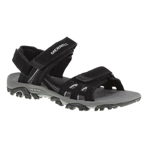 Mens Merrell Moab Drift Strap Sandals Shoe - Black 14