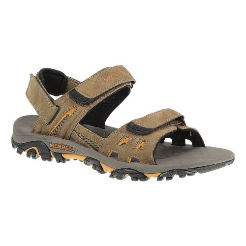 Mens Merrell Moab Drift Strap Sandals Shoe - Dark Earth 8