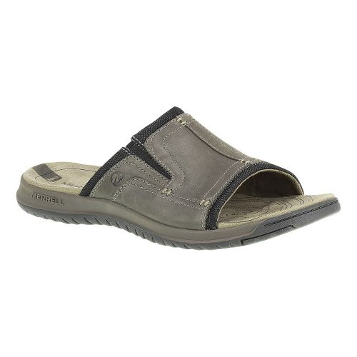 Mens Merrell Traveler Tilt Slide Sandals Shoe - Boulder 13