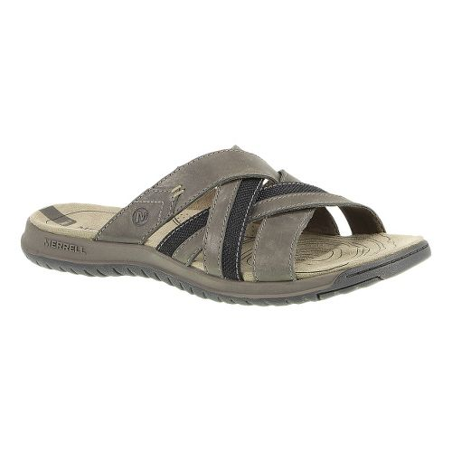 Mens Merrell Traveler Tilt Cross Sandals Shoe - Boulder 8