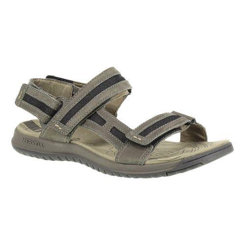 Mens Merrell Traveler Tilt Convertible Sandals Shoe - Boulder 11