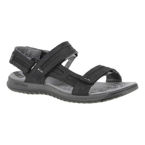 Mens Merrell Traveler Tilt Convertible Sandals Shoe - Black 16