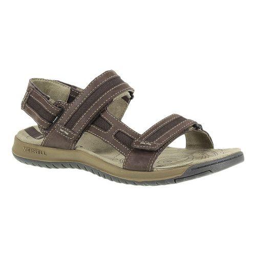 Mens Merrell Traveler Tilt Convertible Sandals Shoe - Espresso 9