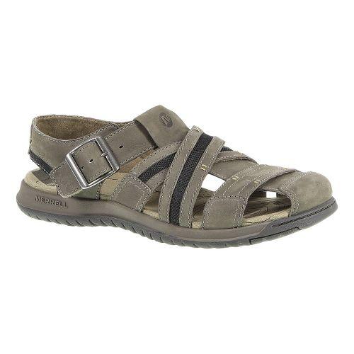 Mens Merrell Traveler Fisher Sandals Shoe - Boulder 14