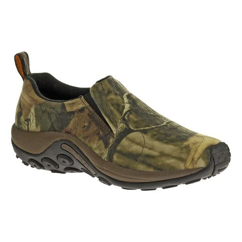 Mens Merrell Jungle Moc Camo Casual Shoe - Mossy Oak Infinity 8.5