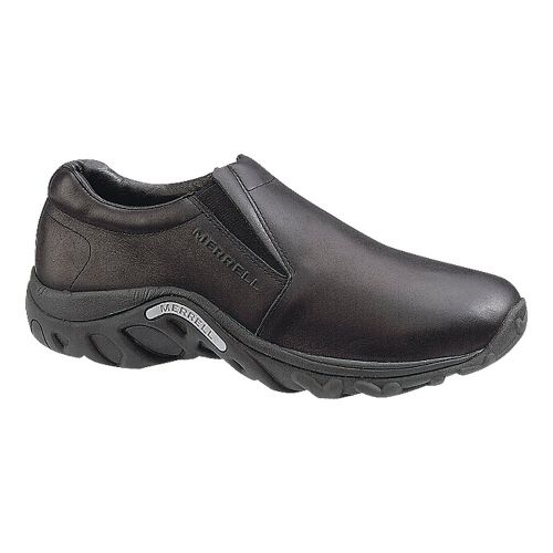 Mens Merrell Jungle Moc Leather Casual Shoe - Midnight 8