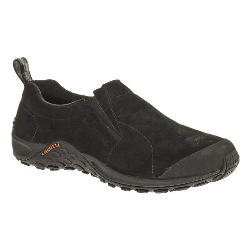 Mens Merrell Jungle Moc Touch Casual Shoe - Black 7.5