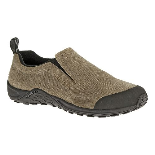 Mens Merrell Jungle Moc Touch Casual Shoe - Dark Taupe 9