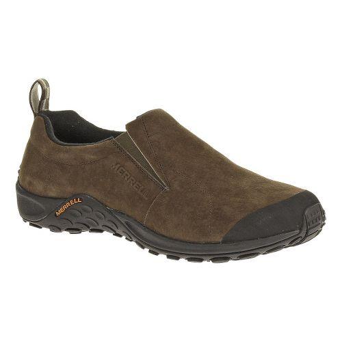 Mens Merrell Jungle Moc Touch Casual Shoe - Merrell Stone 11.5