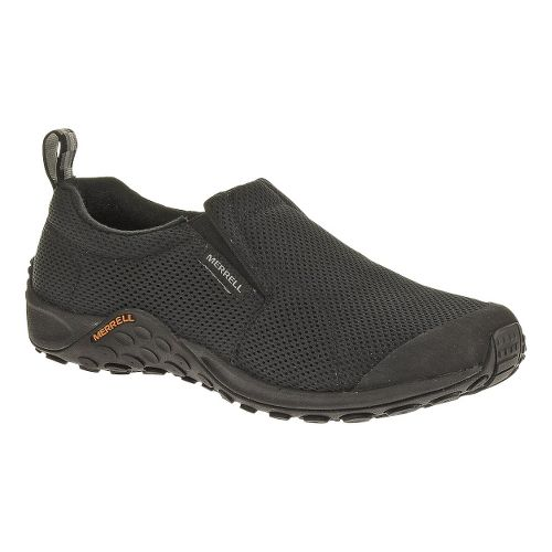 Mens Merrell Jungle Moc Touch Breeze Casual Shoe - Black 8