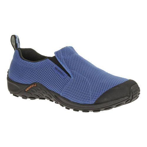 Mens Merrell Jungle Moc Touch Breeze Casual Shoe - Blue 7